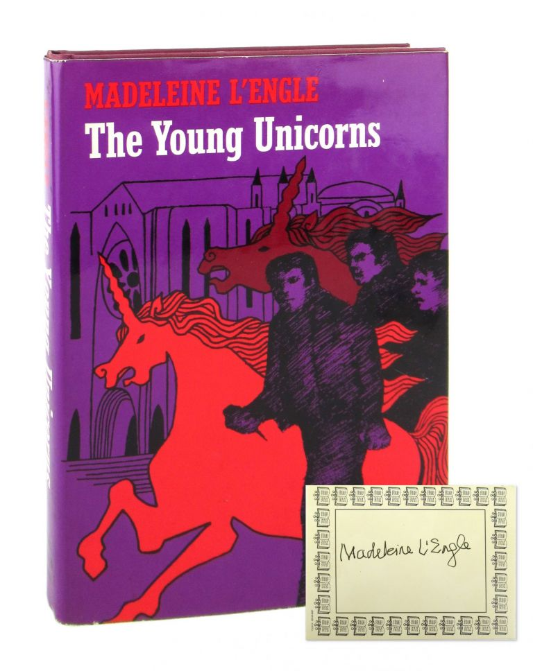 The Young Unicorns [Signed Bookplate Laid in]. Madeleine L'Engle.