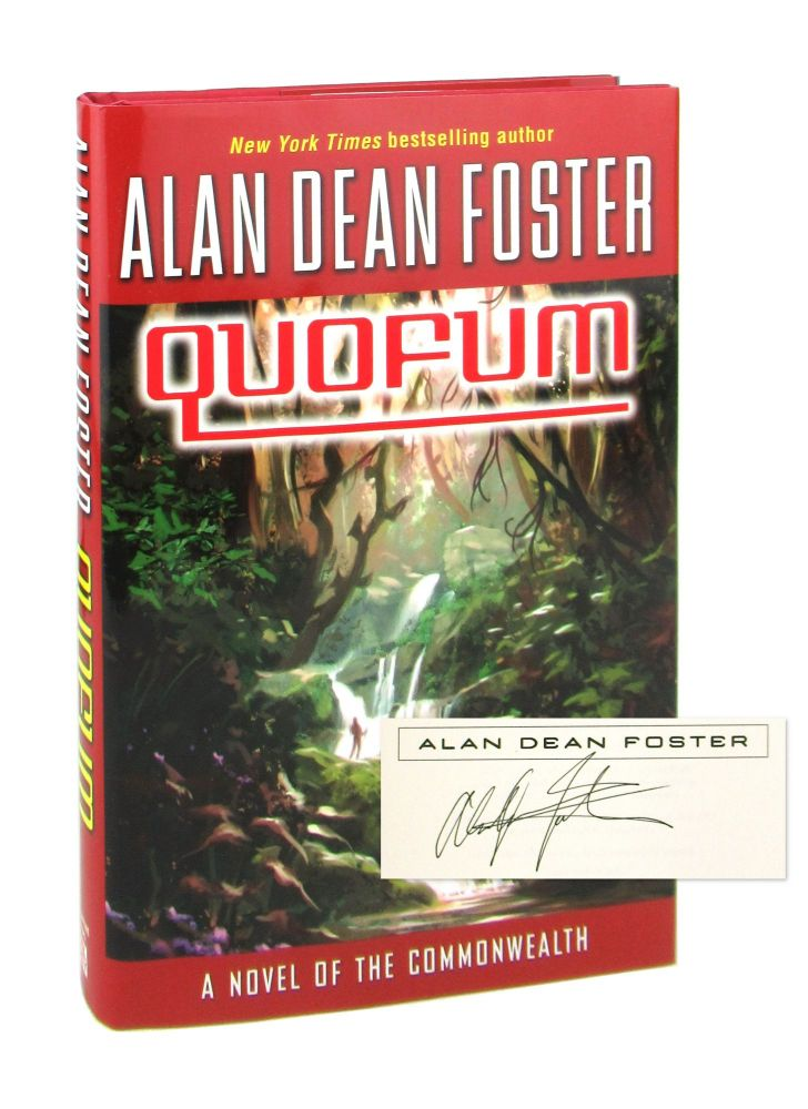 Quofum: A Novel of the Commonwealth [Signed]. Alan Dean Foster.