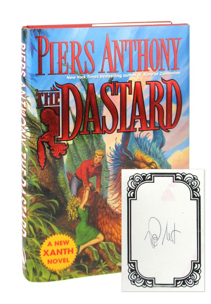 The Dastard [Signed Bookplate Laid in]. Piers Anthony.