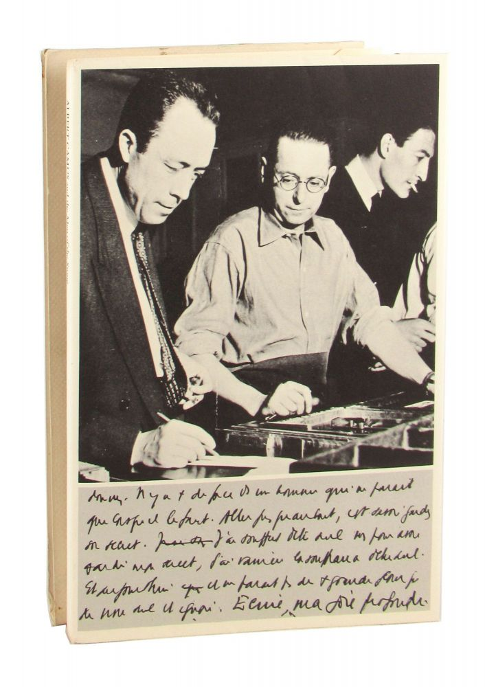 Albert Camus and the Men of the Stone [Limited Edition]. Albert Camus, Robert Proix, Gregory H. Davis, ed., trans.