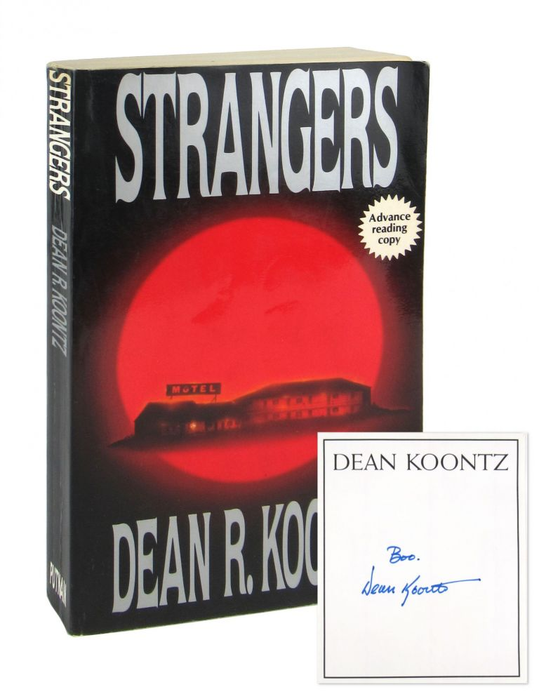 Strangers [Advance Reading Copy, Inscribed and Signed Bookplate Laid in]. Dean R. Koontz.