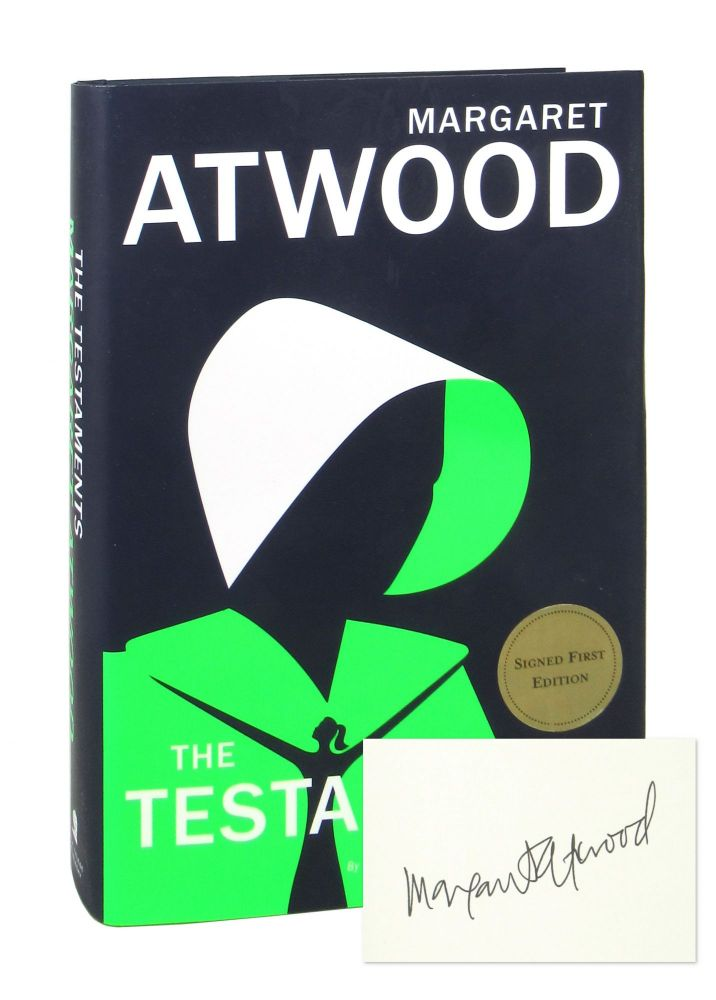 The Testaments [Signed]. Margaret Atwood.