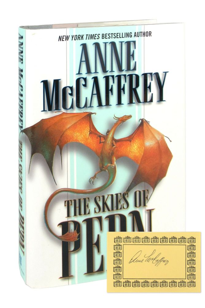 The Skies of Pern [Signed Bookplate Laid in]. Anne McCaffrey.