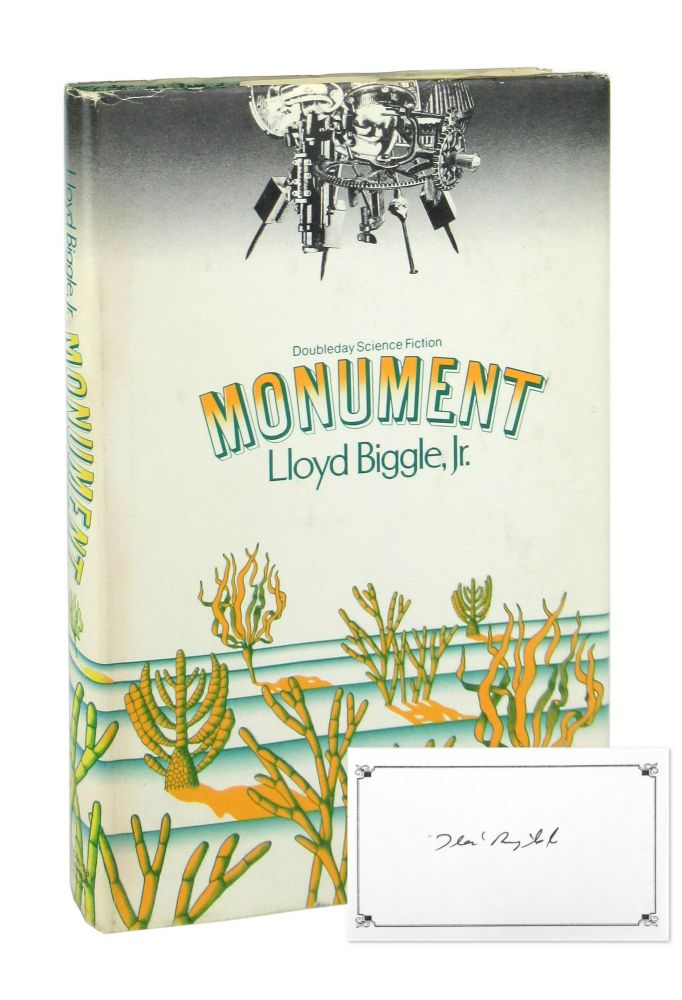 Monument [Signed Bookplate Laid in]. Lloyd Biggle Jr.