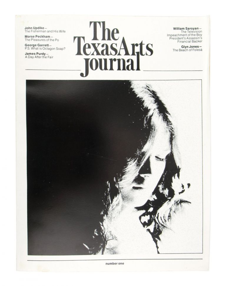 The Texas Arts Journal: Number One. John Updike, James Purdy, Cameron Northouse, contrs., ed.
