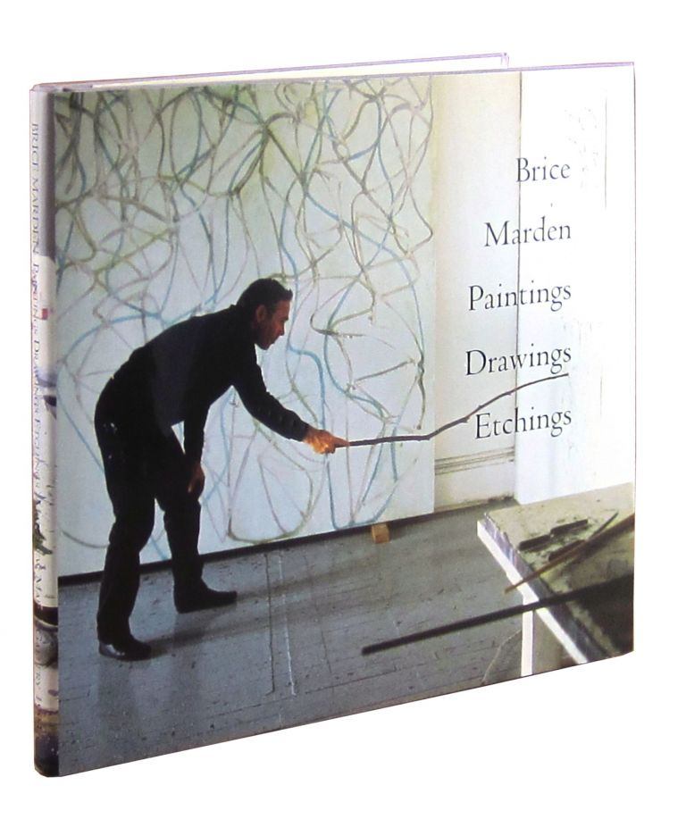 Brice Marden Paintings Drawings Etchings [Signed with Relayed Double Association]. Brice Marden.