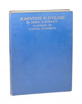 Somewhere in England and Other Hunting Verses. Edric G. Roberts, Lionel Edwards