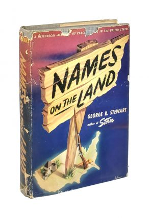 Names on the Land. George R. Stewart