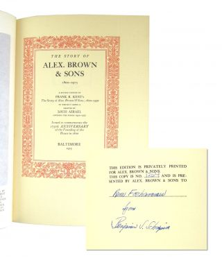 The Story of Alex. Brown & Sons: 1800-1975 [Limited Edition]