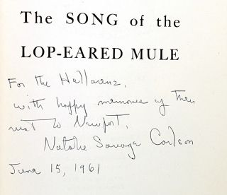 The Song of the Lop-Eared Mule