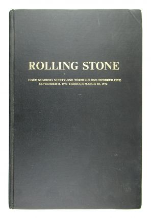 Rolling Stone: Issue Numbers Ninety-one Through One Hundred Five - September 16, 1971 Through...