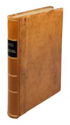 Elements of Surveying, and Navigation, with a Description of the Instruments and the Necessary...