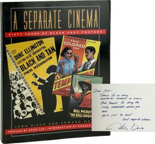 A Separate Cinema: Fifty Years of Black Cast Posters [Signed by Bogle]. John Kisch, Edward Mapp,...