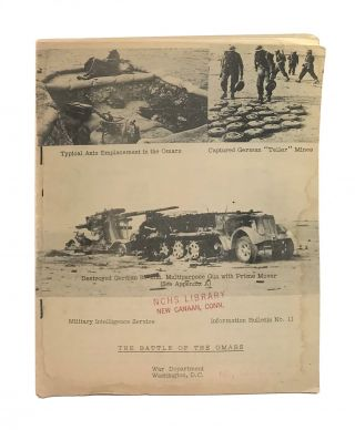The Battle of the Omars [Information Bulletin No. 11]. Military Intelligence Service