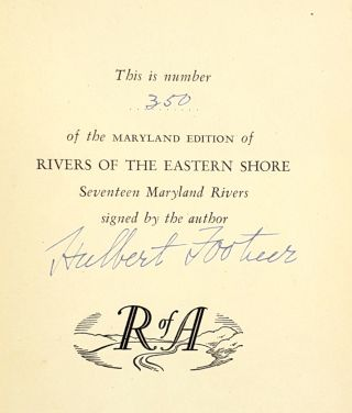 Rivers on the Eastern Shore: Seventeen Maryland Rivers