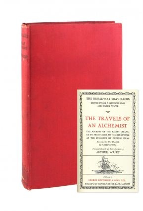 The Travels of an Alchemist: The Journey of the Tois Ch'ang-Ch'un from China to the Hindukush at...