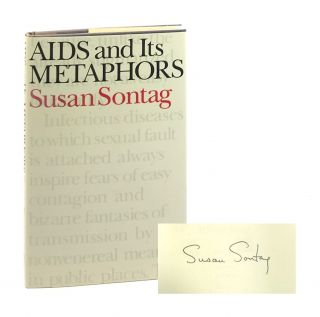 AIDS and Its Metaphors [Signed]. Susan Sontag
