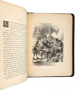 """Knickerbocker Sketches: from """"A History of New York"""""""