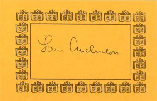 Sybil [Signed Bookplate Laid in]