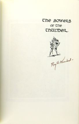 The Sowers of the Thunder [Signed by Krenkel]