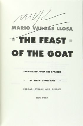 The Feast of the Goat [Signed]