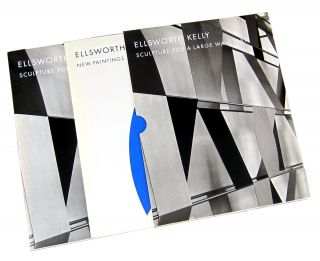 Ellsworth Kelly: Sculpture for a Large Wall 1957 [and] New Paintings (Two Volumes in Chemise)