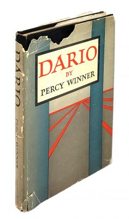 Dario 1925-1945: A Fictitious Reminiscence. Percy Winner