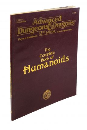 The Complete Book of Humanoids (Advanced Dungeons & Dragons Player's Handbook Rules Supplement -...
