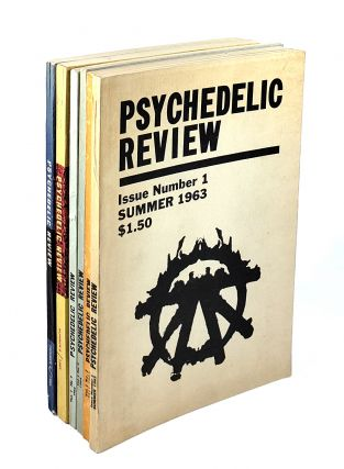 Psychedelic Review Numbers 1-6: Issue Number 1, Summer 1963; Issue Number 2, Fall 1963; Issue Number 3, 1964; Issue Number 4, 1964; Issue Number 5, 1965; Issue Number 6, 1965. Lee Paul, Ralph Metzner, Timothy Leary, Alan Watts, Lawrence Ferlinghetti.
