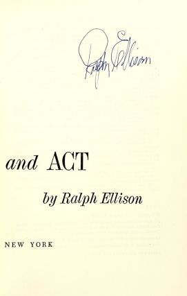 Shadow and Act [Signed]