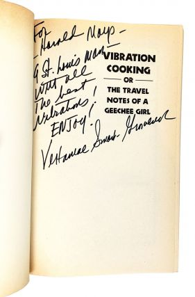 Vibration Cooking; or, the Travel Notes of a Geechee Girl