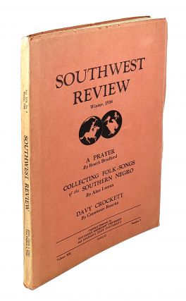 Southwest Review: Winter, 1934