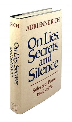 On Lies, Secrets, and Silence: Selected Prose 1966-1978. Adrienne Rich.