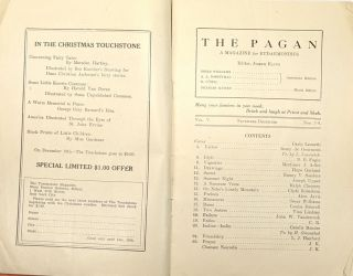 The Pagan: A Magazine for Eudaemonists. Vol. 5, No. 7-8