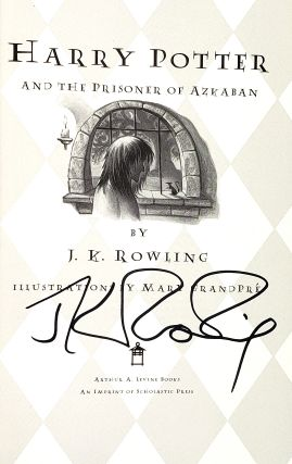 Harry Potter and the Prisoner of Azkaban [Signed]
