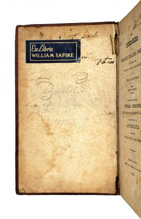 The Speeches of Charles Phillips, Esquire, Delivered at the Bar and on Various Public Occasions, in Ireland and England, Edited by Himself. To Which Are Added, Several Speeches, Never Before Published in America; Together With an Appendix, Containing the Last Speech of Robert Emmett