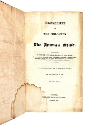 Elements of the Philosophy of the Human Mind [Two Volumes in One]