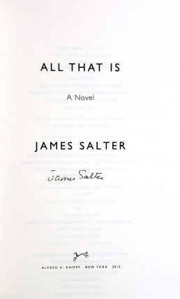 All That Is: A Novel
