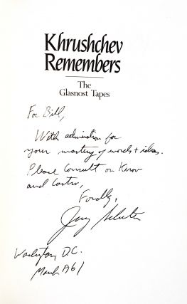Khrushchev Remembers: The Glasnost Tapes