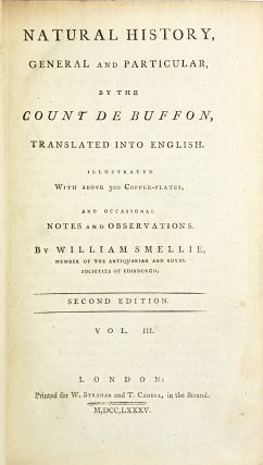 Natural History, General and Particular [Vol. III]