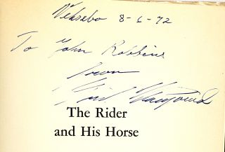 The Rider and His Horse