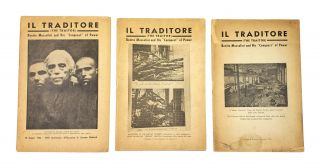 "Il Traditore (The Traitor): Benito Mussolini and His ""Conquest"" of Power [3 Volumes]. Angelica..."