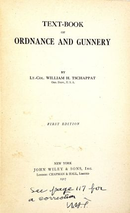 Text-Book of Ordnance and Gunnery