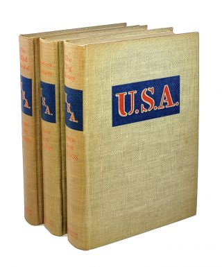 U.S.A. Trilogy (The 42nd Parallel, Nineteen Nineteen, The Big Money). John Dos Passos