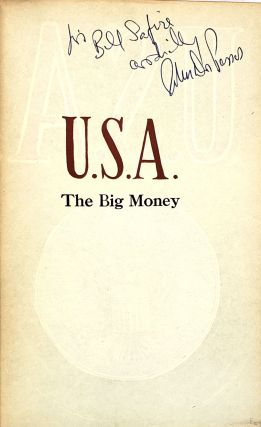 U.S.A. Trilogy (The 42nd Parallel, Nineteen Nineteen, The Big Money)