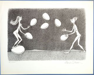 Abner Dean's Naked People: A Selection of Drawings from Four of His Books - It's a Long Way to Heaven, What Am I Doing Here?, and on the Eighth Day, Cave Drawings for the Future