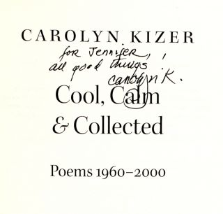 Cool, Calm & Collected: Poems 1960-2000