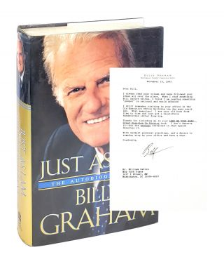 Just As I Am [With TLS to William Safire]. Billy Graham
