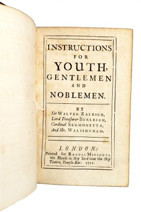 Instructions for Youth, Gentlemen and Noblemen