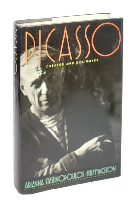 Picasso: Creator and Destroyer [Signed with ALS to William Safire]. Arianna Stassinopoulos...
